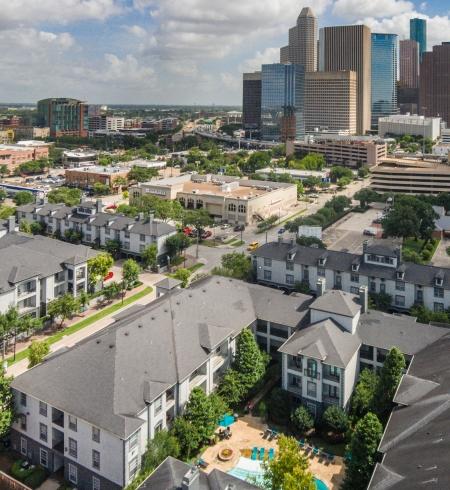Camden Midtown Apartments in Houston, Texas