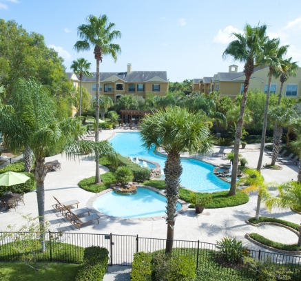 Pool at Camden Breakers Apartments in Corpus Christi, Texas